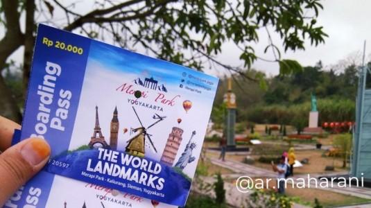 REVIEW : Wisata Edukasi di The World Landmark Merapi Park Yogyakarta