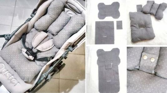 DIY Stroller Pad Praktis Tanpa Mesin Jahit
