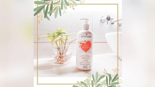 Rasakan Sensasi Gembira Mandi dengan Attitude 2in1 Natural Shampoo & Body Wash