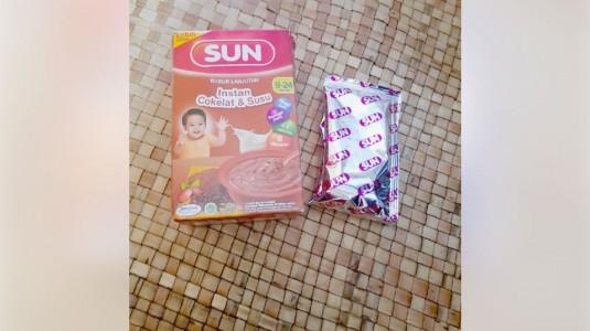 Review Sun Mpasi 9+ Cokelat Susu