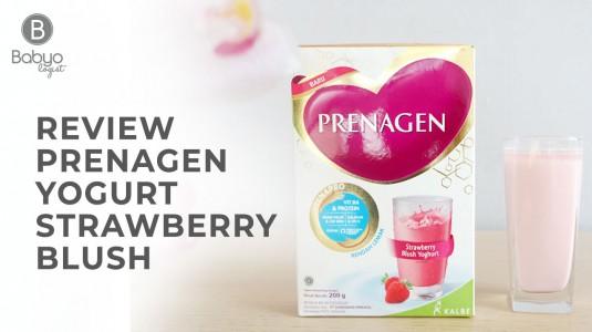 Babyo Review : PRENAGEN Yogurt Strawberry Blush