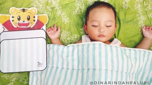 Kualitas Tidur Si Kecil Lebih Baik Berkat Botol Susu Anti Kolik