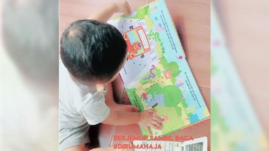 Tips Sederhana Anak Tertarik dengan Buku
