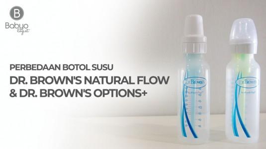 Babyo Review: Perbedaan Dr. Brown's Natural Flow dan Dr. Brown's Options