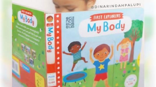 Mengenalkan Anggota Tubuh kepada si Kecil melalui Buku Campbell - My Body