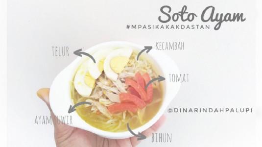 Resep MPASI Soto Ayam (12M+)