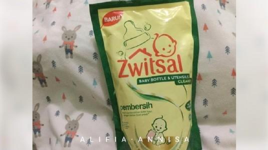 Review Zwitsal Baby Bottles & Utensils Cleaner