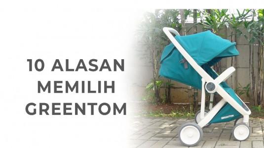 Babyo Review : 10 Alasan Memilih Stroller Greentom