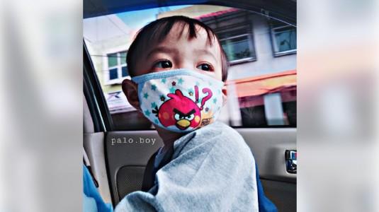 Tips Mengenakan Masker Pada si Kecil
