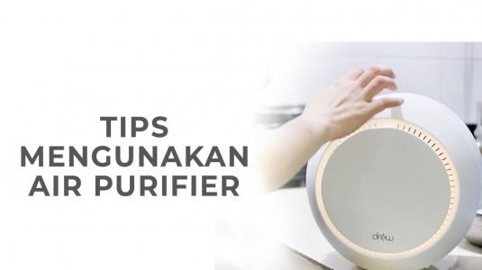 Babyo Tips Menggunakan Air Purifier
