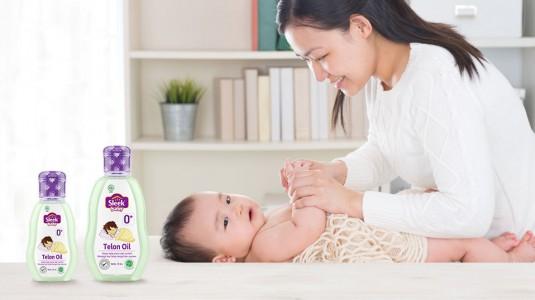 Babyo Review: Sleek Baby Telon Oil, 2x Minyak Telon Biasa!