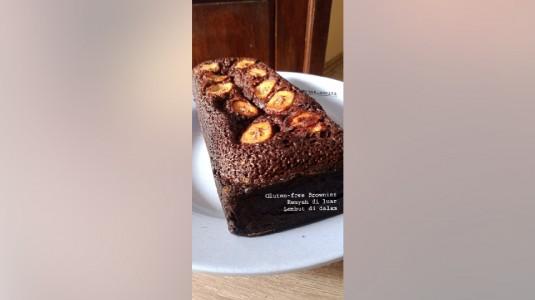 Brownies Fudgy Gluten Free, Renyah di Luar, Lembut di Dalam