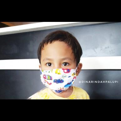 Caraku Mengenalkan Kondisi Pandemi Pada Anak