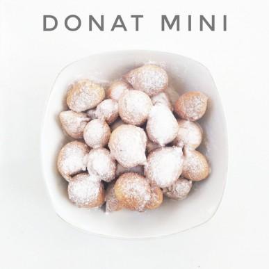 Donat Mini untuk Si Kecil