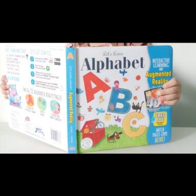 Belajar ABC Jadi Menyenangkan Dengan AR Book Ayo Belajar Alfabet