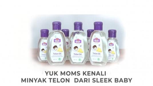 Babyo Review: Yuk Moms Kenali Minyak Telon dari Sleek Baby