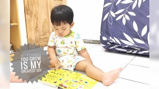 Stimulasi Membaca supaya Anak Grow Happy