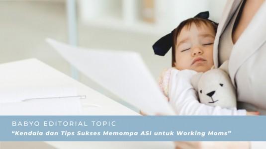 Kendala dan Tips Sukses Memompa ASI Dengan Single Breast Pump untuk Working Moms