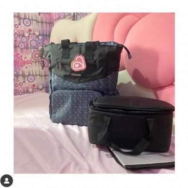 Allegra Justin Cooler Diaper Backpack