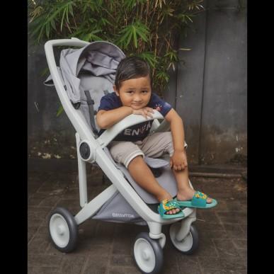 Stroller Greentom Hasil Redeem Point di Babyologist. Terimakasih Babyo!