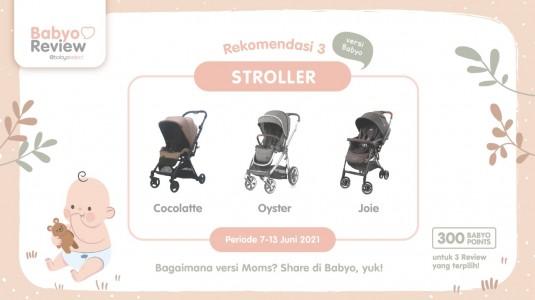 Rekomendasi Stroller versi Babyo