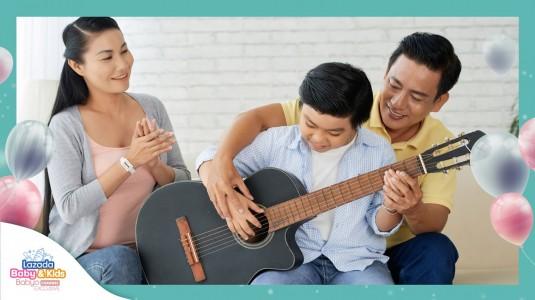 Manfaat Berlatih Musik dan Bernyanyi untuk Dukung si Kecil Grow Happy