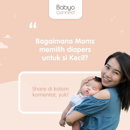 Apa Kata Moms tentang Diapers?