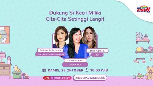 📌 Lazada Baby and Kids Festival Show Kelima Sudah Dimulai Nih, Nonton Yuk!