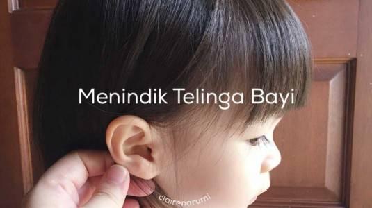 Menindik Telinga Bayi
