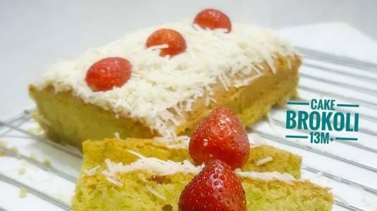 Cake Brokoli Untuk Si Kecil