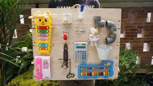 DIY Project: Busy Board, Kebahagiaan dari Sebuah Papan!