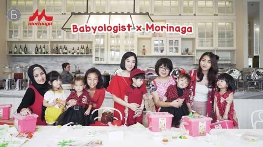 Babyologist x Morinaga