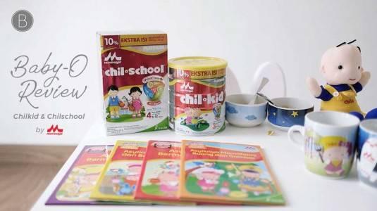 Baby-O-Review Morinaga Chil Kid Platinum & Chil School Platinum