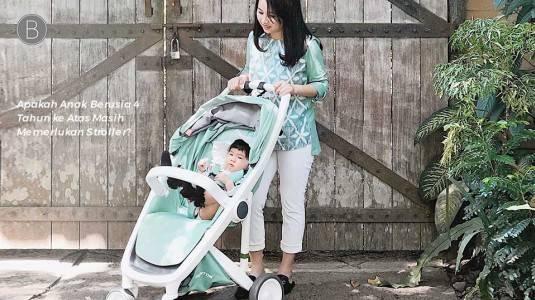 Apakah Anak Berusia 4 Tahun ke Atas Masih Memerlukan Stroller?