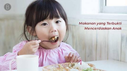 Makanan yang Terbukti Mencerdaskan Anak