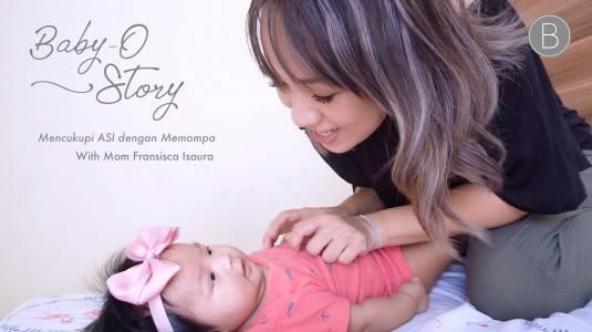 Babyo Story with Mom Fransisca Isaura: Mencukupi ASI dengan Memompa