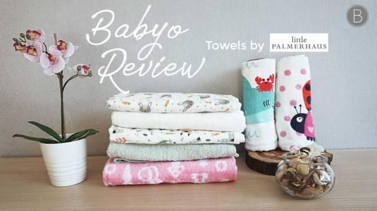 Babyo Review: Little Palmerhaus Towels