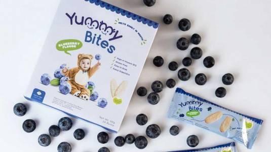 Review: Yummy Bites, Snacknya si Kecil