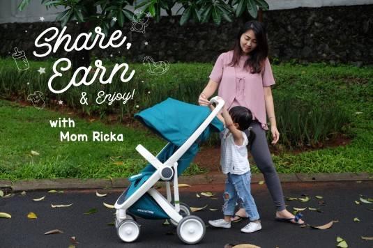 Share, Earn & Enjoy with Mom Ricka