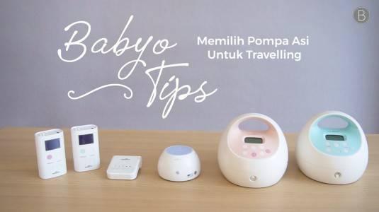 Babyo Tips: Memilih Pompa ASI untuk Travelling
