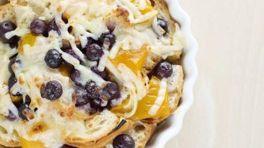 Mango Bread Pudding (13 M+)