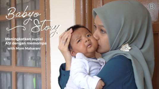 Babyo Story with Mom Maharani Syaraswati: Meningkatkan Suplai ASI dengan Memompa