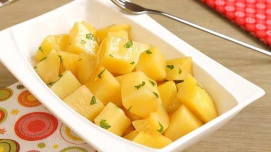 Steamed Potatoes ala Mom Rika