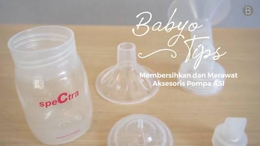 Babyo Tips: Membersihkan dan Merawat Aksesoris Pompa ASI
