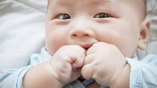 Bohn Nodules pada Gusi Bayi