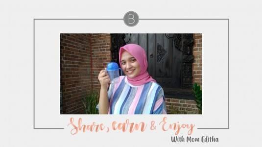 Share, Earn & Enjoy with Mom Editha